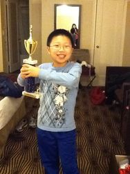 Kevin winning U1000 at Empire Open