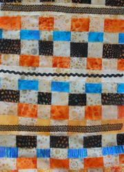 Lesley's woven piece