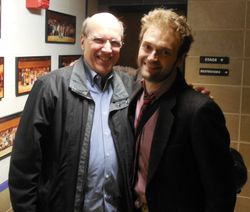 Chris Thile with Don Stiernberg