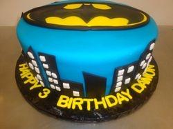 15 serving fondant batman cake $160