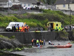 Wicklow RNLI assist injured man during multi-agency operation