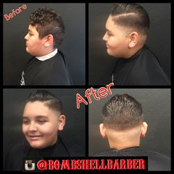 Skin Fade, Pompadour Shaping