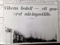 Vikens hotell 1931