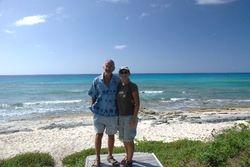 Tiki Huts beach