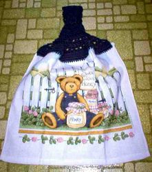 Sweet Clover Honey Kitchen Towel