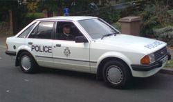 1980s Escort Panda car