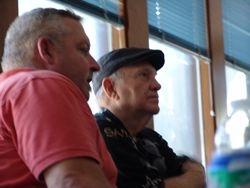 Danny and AHS President Damon Veach