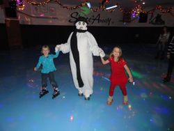 Skating with FROSTY!!!!