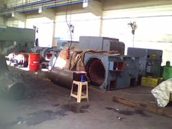 Dismantled motor