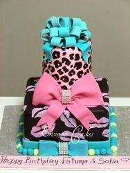 Cheetah Skin cake