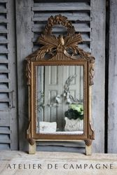 SOLD  #22/262 Wooden Bridal Mirror SOLD