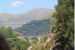 """Harry Potter"" railroad bridge between Skye and Mull"