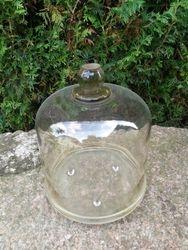 Prieskarinis stiklinis gaubtas pyragui uzdengti. Kaina 23