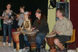 Keeping the beat during the Malleefowl Boogie