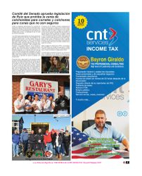 CNT SERVICES INCOME TAX