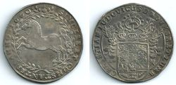 1660 Germany, Brunswick-Luneburg-Calle, Silver Thaler