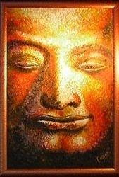 'Buddha face'