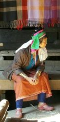 Long Neck Karen Woman