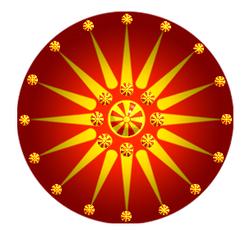 Macedonian Sun Flag Art