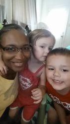 Mrs. Johnson, Liana and Christian