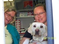 Dawn, Twyla, and Blondie