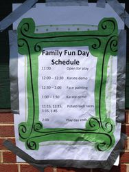 Our schedule is packed with fun events