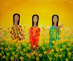 Young Ladies and Cactus, 2008