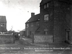 Grove Lane, c1880.