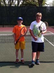 Wooden Tennis Racquet Tournament JR Winners