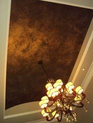 Dramatic Foyer Ceiling Finish