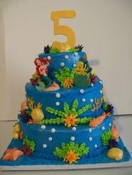 Dianas Mermaid Cake