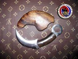 Custom Curved 5160 Spring Steel Karambit