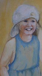 Cherish's Portrait, Acrylic