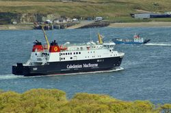 MV Finlaggan and the Jura ferry