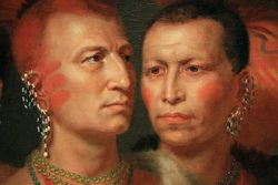 King, Indian Chiefs, 1821, Smithsonian