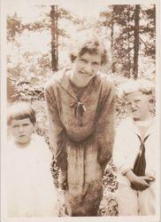 Anna Acker and Children