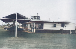 Dairy Mart in Waller 1956