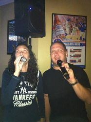 Gina & Jerry performing as a duet at Legendary Friday Night Karaoke!!