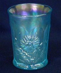 Dandelion tumbler - ice blue