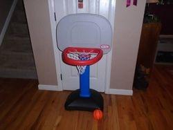 Little Tikes TotSports Easy Score Basketball Set - $18