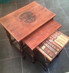 Hogwarts themed tables