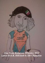 2012 KW Ladies B.A,R, Hillclimb & 12hr Champion