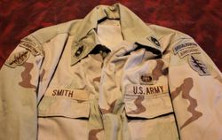 Sargent First Class, 5th SF. FAV Crewman: