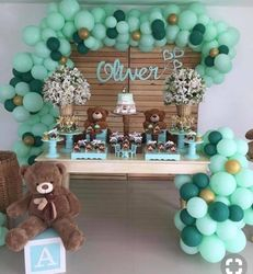 Baby First Birthday Teddy theme