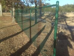 6 ft green chainlink