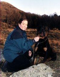 Meg og Brando  våren 2004