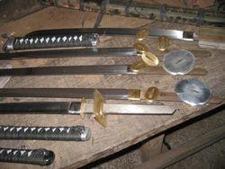 Custom Full Tang Katana, Wakizashi and Odachi Available for Forging.