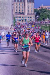 Minneapolis Marathon by Marilyn Lamoreaux (HM)