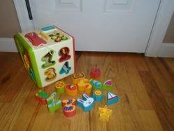 Parents Magazine Electronic Activity Puzzle Cube - $14