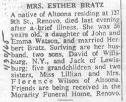 Bratz, Esther Watson 1965